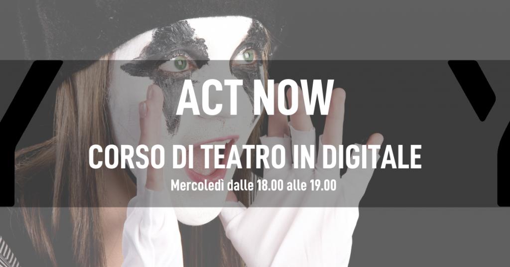 Corso di teatro online digitalent