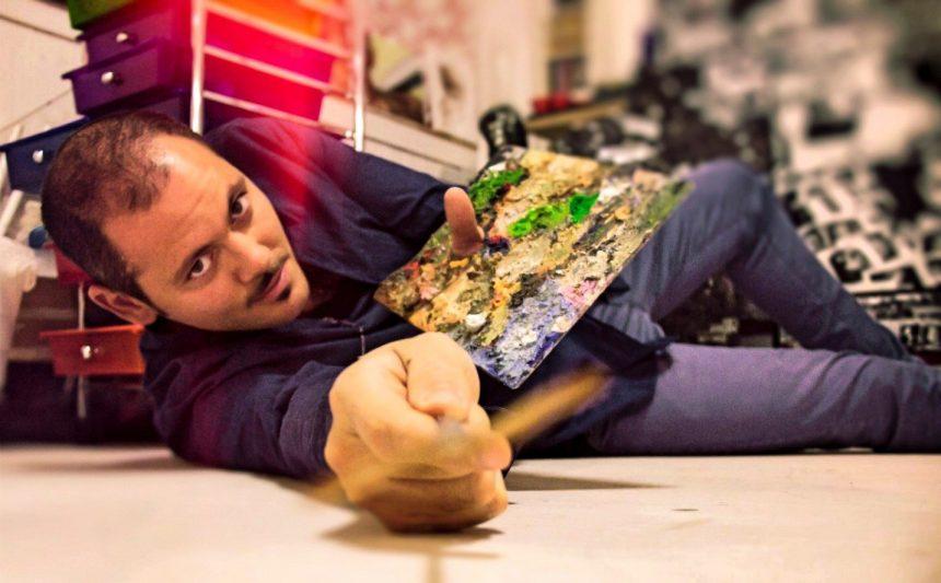 Masterclass in disegno e pittura Daniele Piscopo artista