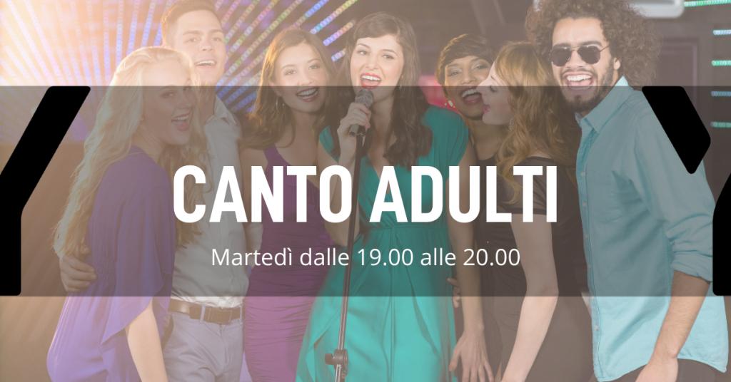 Corso di canto per adulti a Biassono Monza