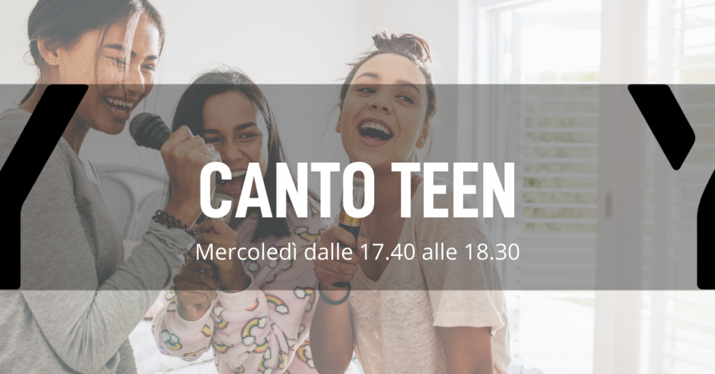 Corso di canto per adolescenti a Biassono Monza